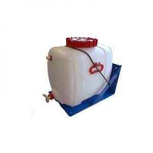 Voorraadvat 60 liter met vlotter | Tractiebatterijen.com